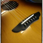 Brücke der Chill-out Baby Gitarre