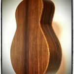 Indische Palisander Gitarrenboden