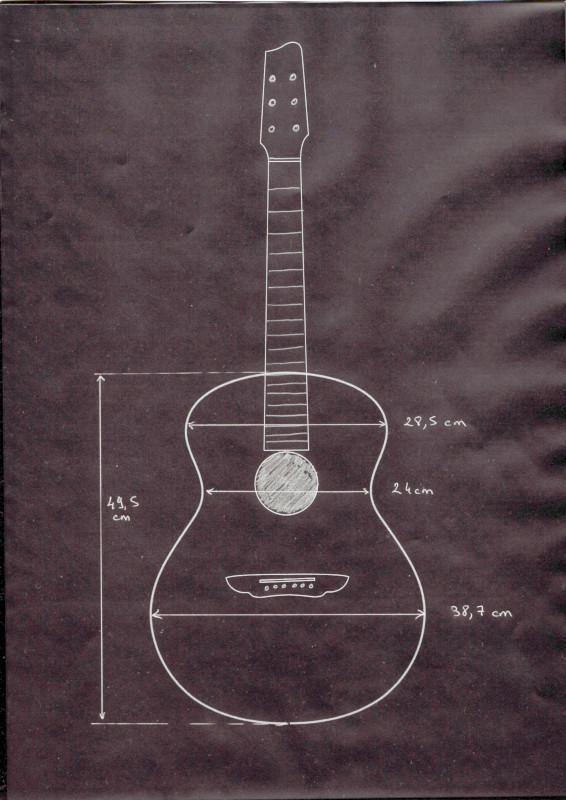 Soulmate Gitarrenabmessungen